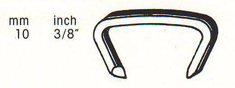 سوزن-منگنه-دی شکل